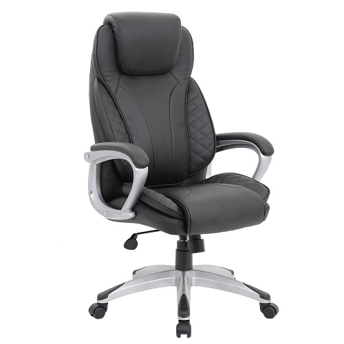 Tristar Executive HB Office Chair Black PU
