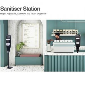 Hand Sanitiser Dispenser & Stand 600H-1550H_cafe